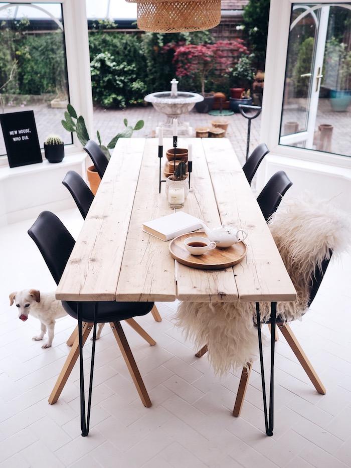 Как сделать обеденный стол