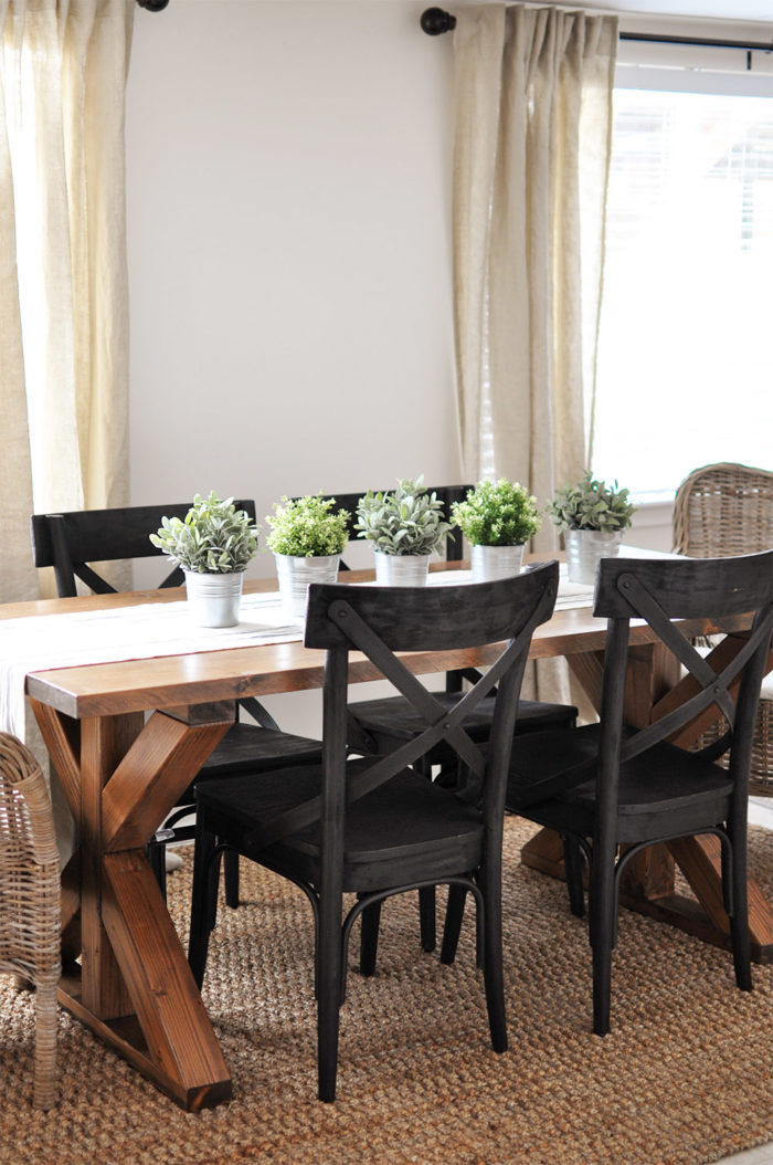 How to make a large dining table