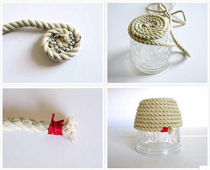 Плетение из пеньковой веревки своими руками 26