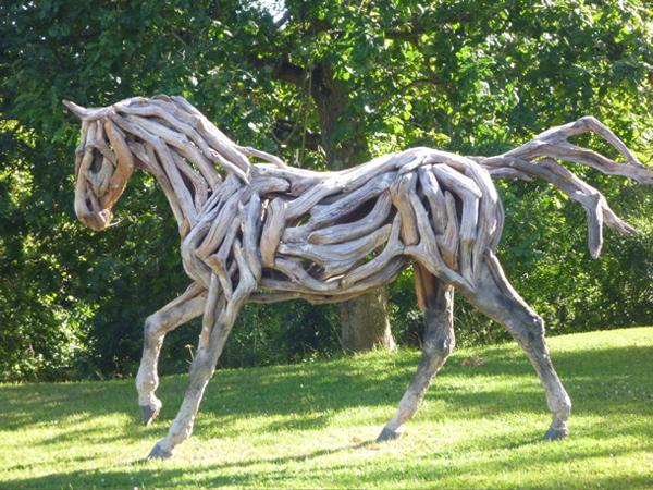 Лошади из дерева своими руками