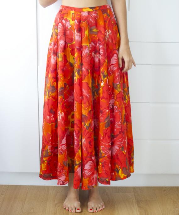 Декор старой юбки