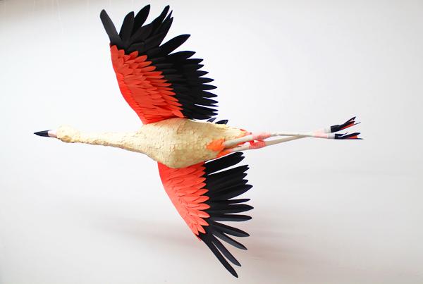 Объемные птицы своими руками