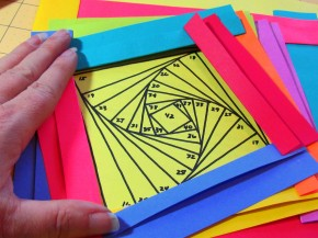 Красочная обложка из бумаги своими руками