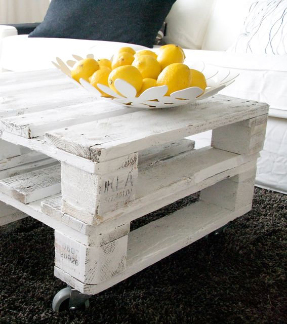 How use the old pallet