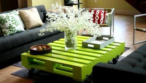 How use old pallet