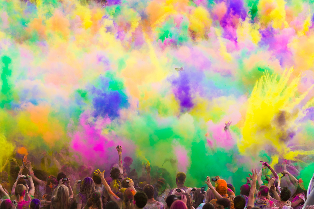Фестиваль Красок Холи в Индии