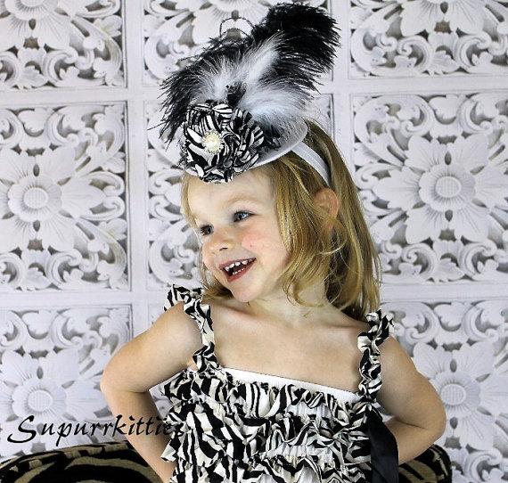 Шляпки для маленьких модниц
