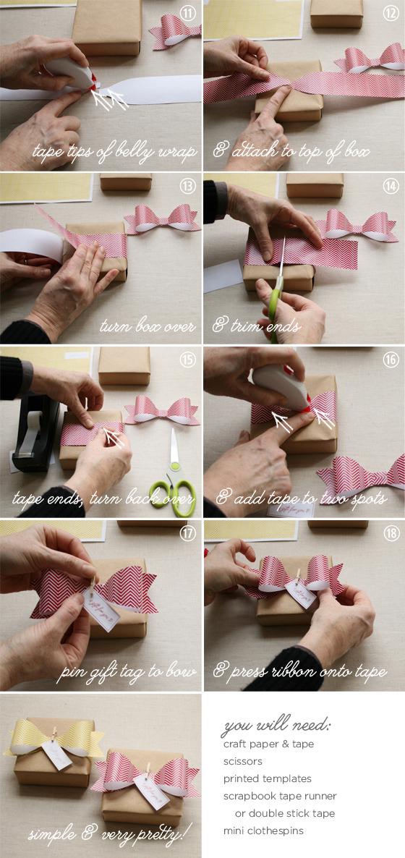 Как сделать упаковочный бант из бумаги своими руками