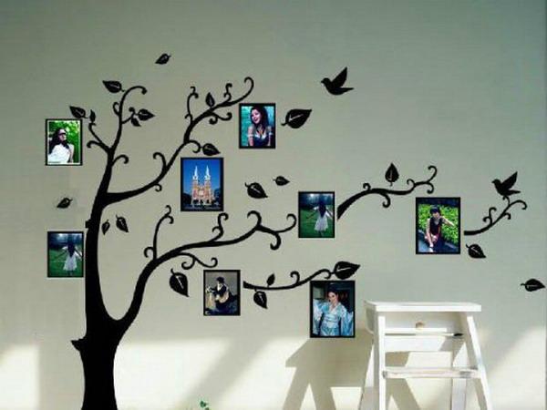 30 - Como poner muchas fotos en una pared ...