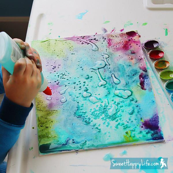 Как сделать из акварельных красок 396