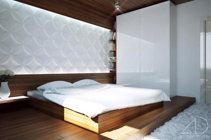 Идеи спальни в стиле модерн топ 15