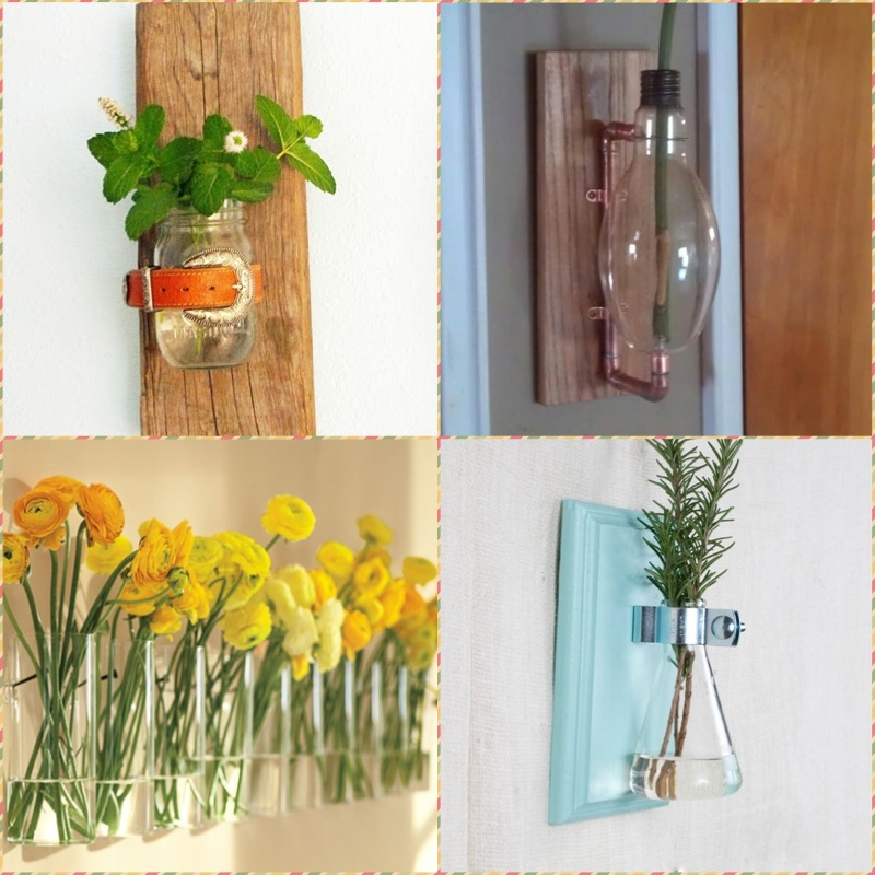 A wall vase with your own hands, +10 Ideas