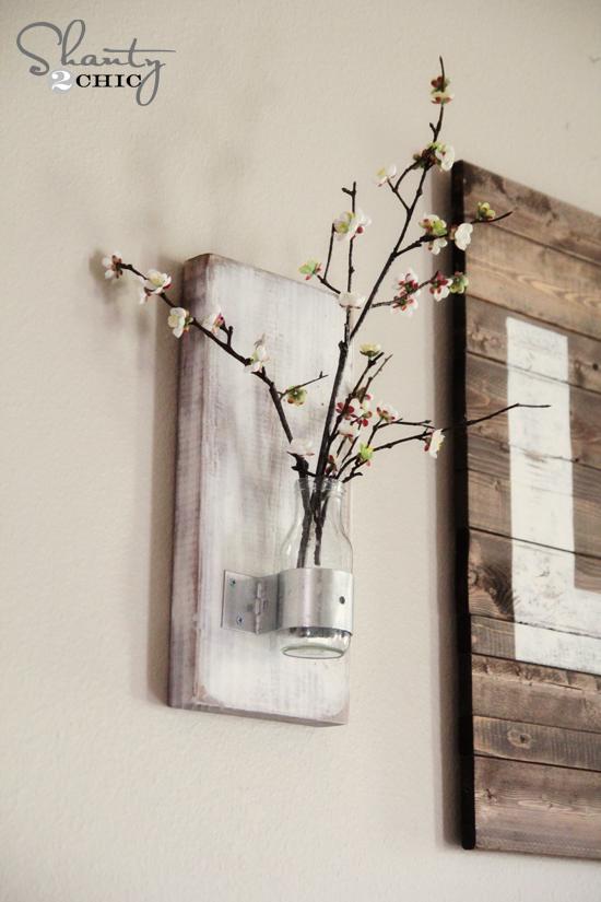 Настенная ваза своими руками, +10 Идей
