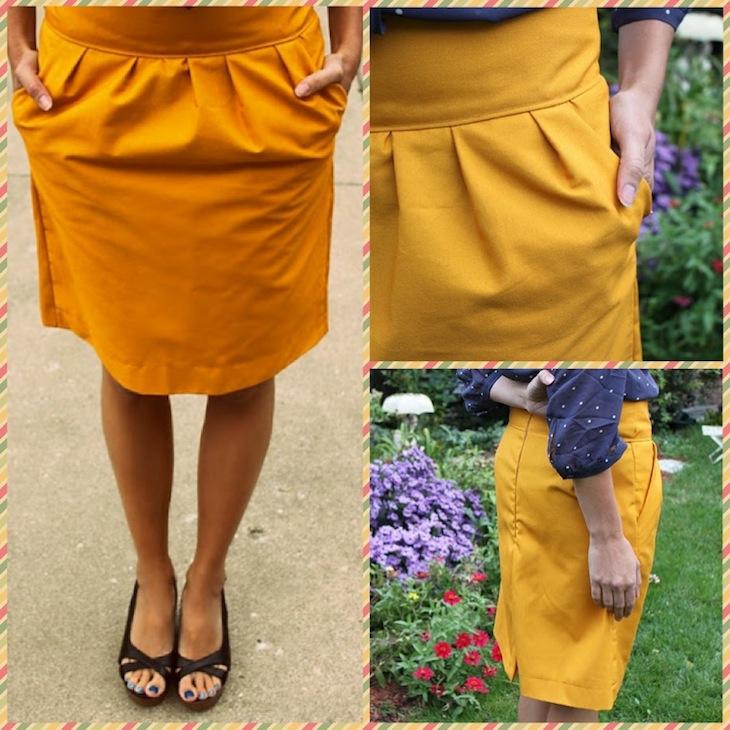 Перешить джинсовый сарафан в юбку