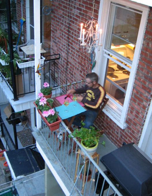 фото как обустроить маленький балкон