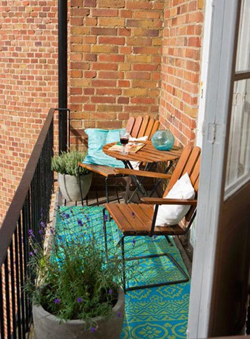 Как обустроить маленький балкон. 70 идей / surfingbird - мы .