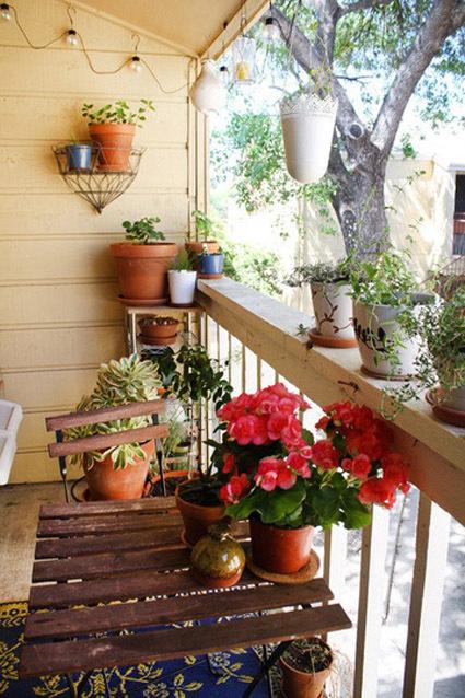 Интересные идеи балкона своими руками