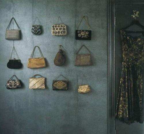 40 Идей хранения сумочек