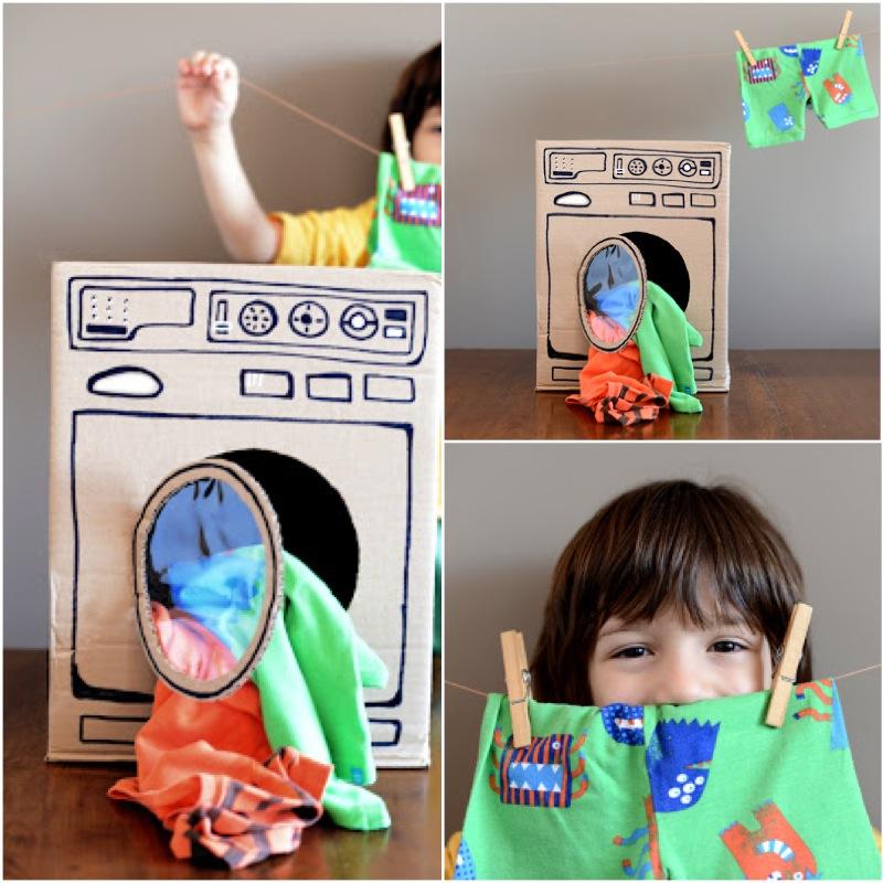 Стиральная машина своими руками для детей
