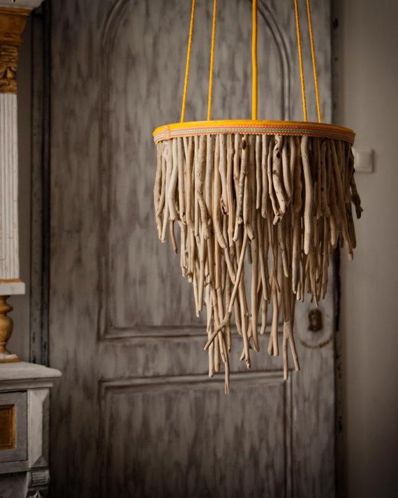 Идеи светильников из дерева