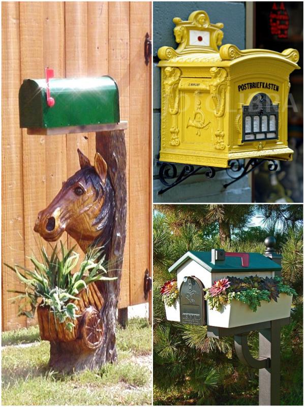 Декоративный почтовый ящик своими руками 69