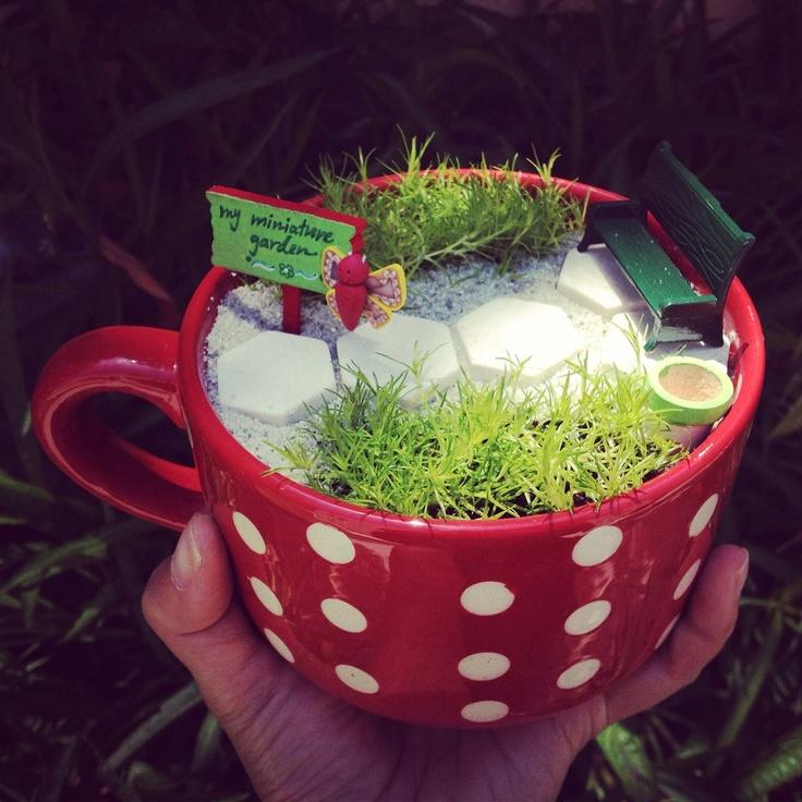 Практические идеи миниатюрных садов