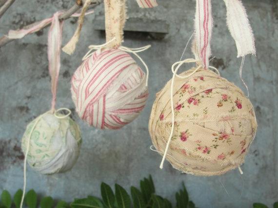 Винтажные игрушки на елку