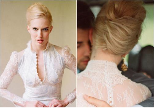 Как сшить пуговицы на платье на спине