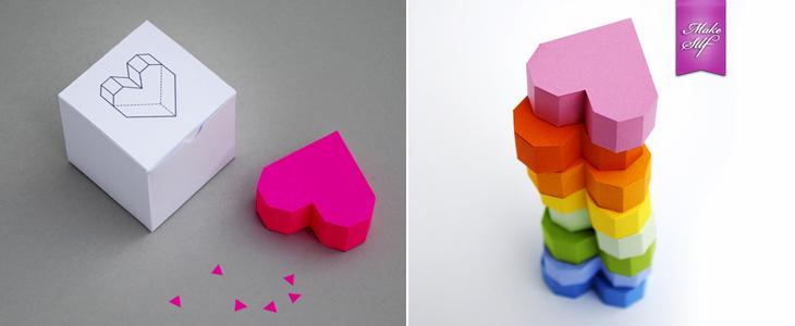 Оригами из бумаги объемное сердце из бумаги своими руками 11