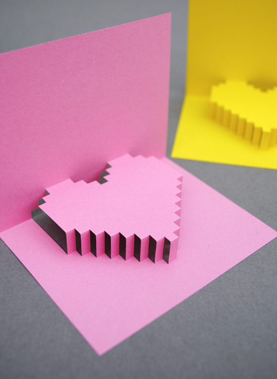 How to make a volumetric card with your own hands, a gift for beloved for Valentine's Day