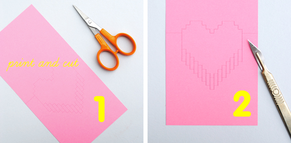 How to make a volume card with your own hands, a gift for beloved for Valentine's Day