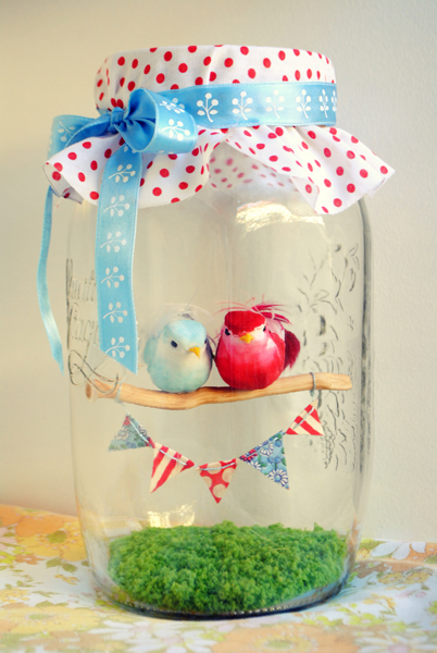 How to make a gift for a loved one with your own hands. Love birds for the Day St. Valentine