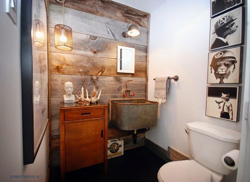 ванная в деревенском стиле фото