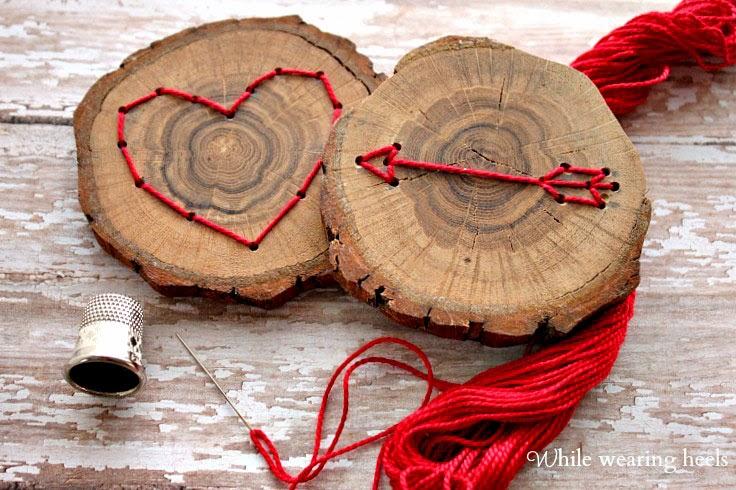 Красивый подарок из дерева