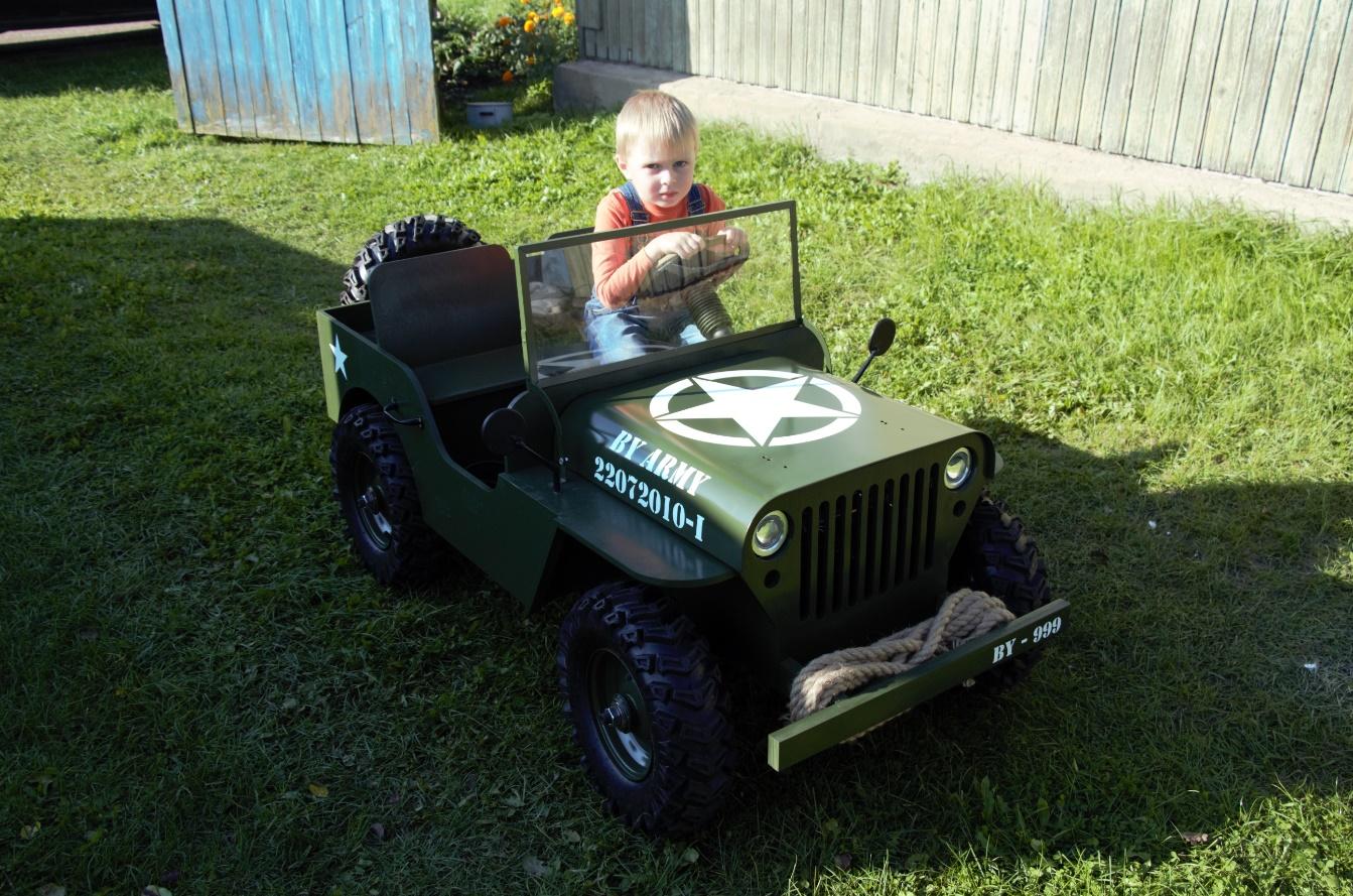 Детские авто на бензине своими руками 81