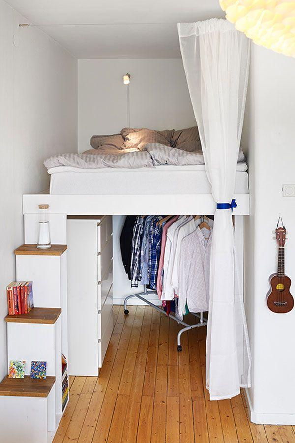 Спальня под потолком своими руками 97