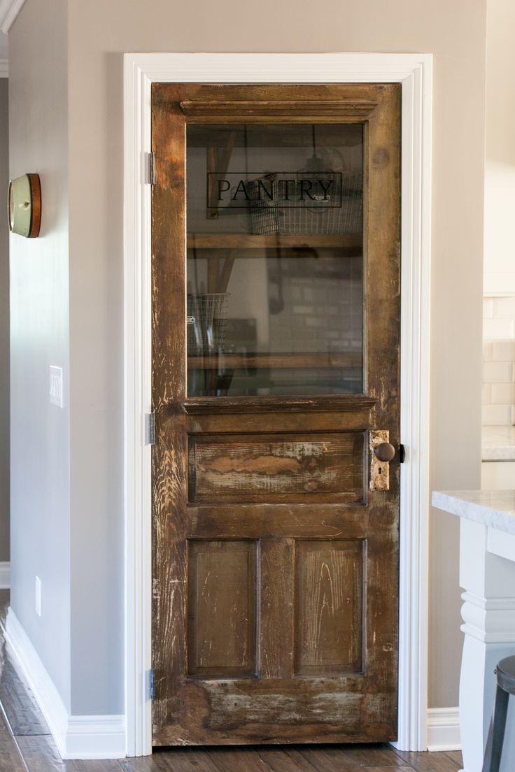 Bedroom Door Decorations Classical: 26 Винтажных дверей в современных интерьерах