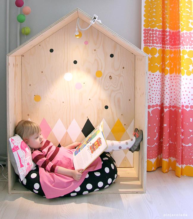 Детский домик из фанеры своими руками фото