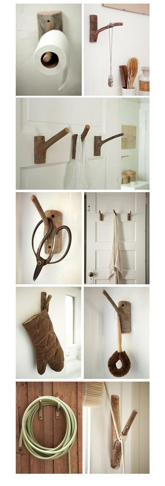 Как сделать деревья вешалки своими руками 95