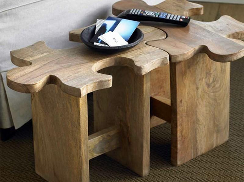 20 Оригинальных и простых конструкций мебели