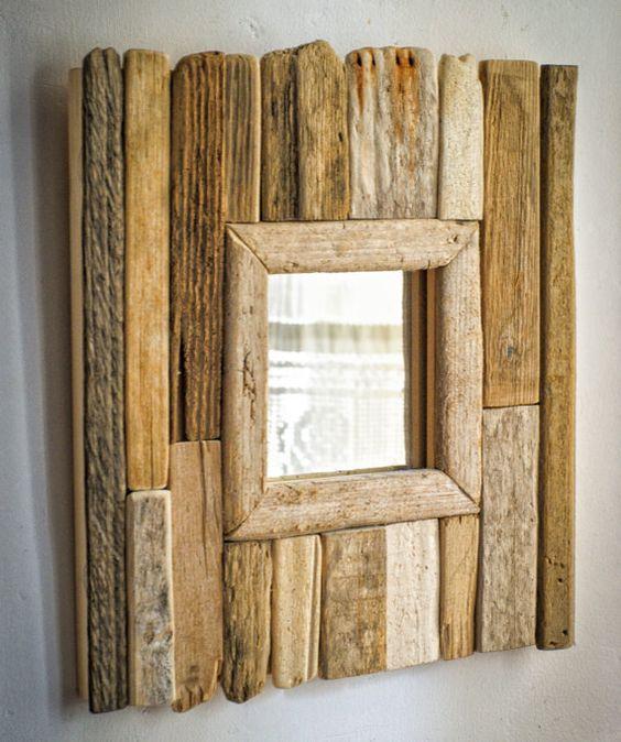Зеркало из дерева своими руками 273