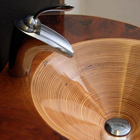 Exceptionnel Wood Umivalnik 28 ...
