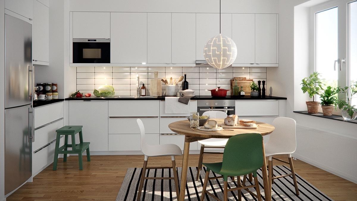 Скандинавский дизайн кухни фото 2018 современные