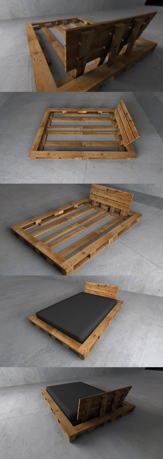 Использование старых деревянных поддонов в быту 61