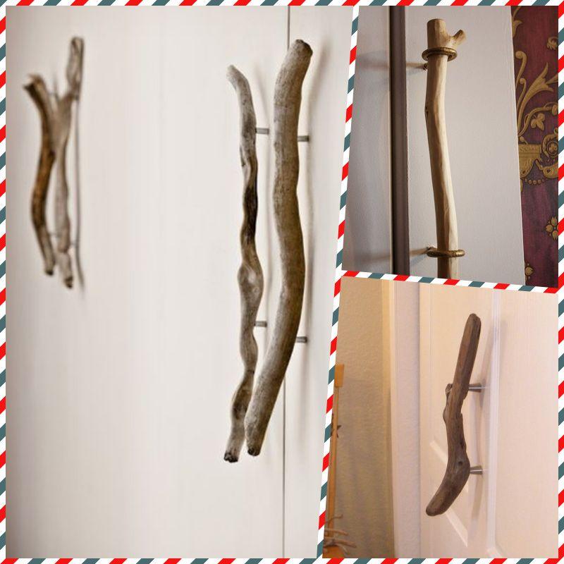 как самостоятельно сделать ручки для дверей или мебели топ 17