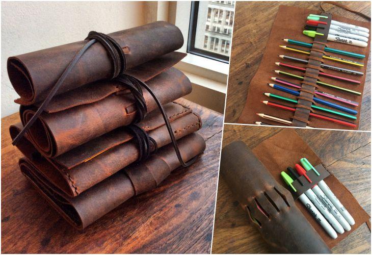 25 Шикарных подарков из кожи, которые можно сделать самостоятельно