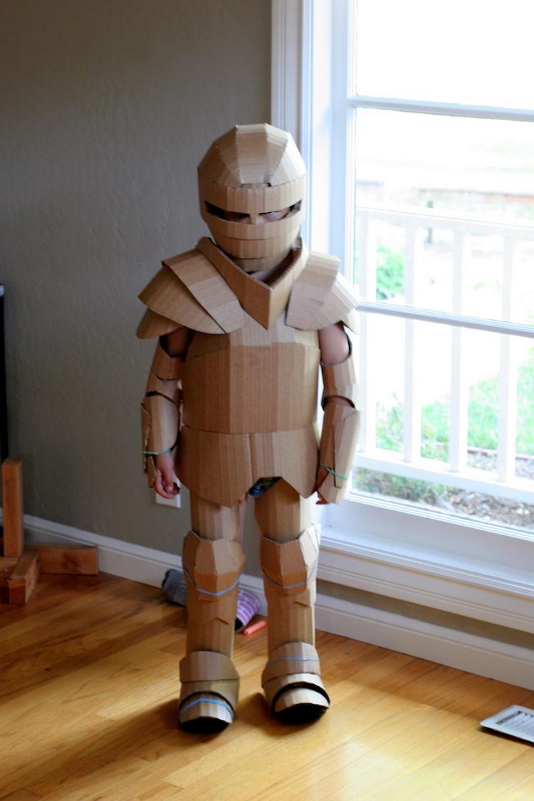 Fantastic Knight Cardboard Armor