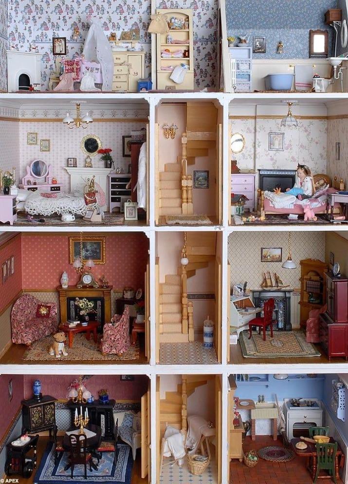 Мебель для дома для барби своими руками
