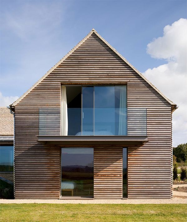11 Fantastic examples reincarnations of old barns in residential houses