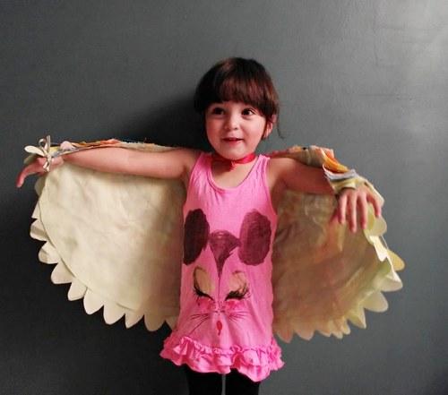 Костюм птички для девочки видео